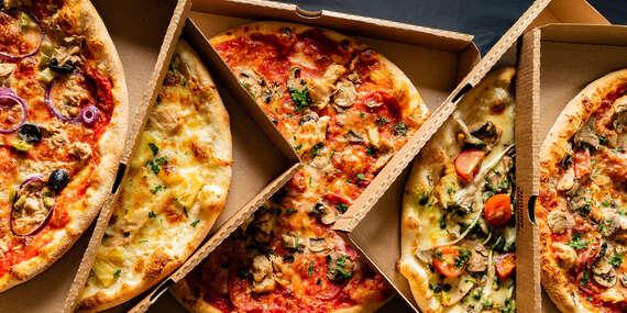 2x pizza podľa vlastného výberu + nápoj s donáškou v rámci Košíc v cene z Pizza LARA/Košice - Dargovských Hrdinov