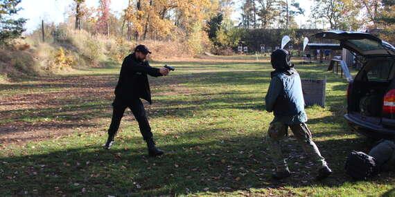 Kurz sebeobranné střelby pro začátečníky i mírně pokročilé pod profesionálním vedením a platností až do prosince 2021/ČR