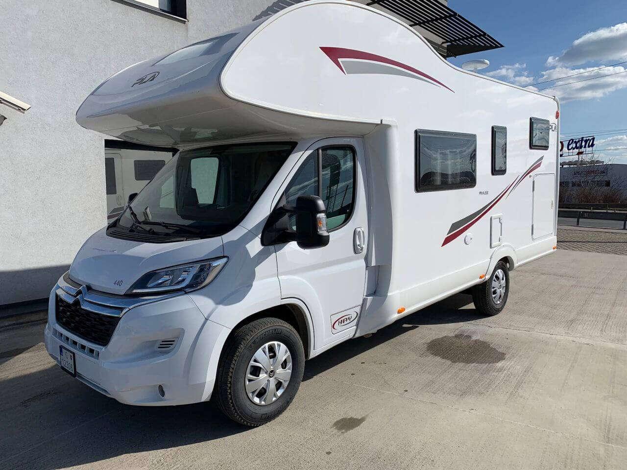 Prenájom Happy Caravan pre 6 osôb – cestujte slobodne za dobrodru...