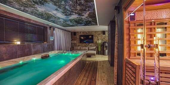 ŠPECIÁLNA NARODENINOVÁ PONUKA: Nové apartmány Lacov Dom pre 1 - 4 osoby s priamym prístupom k bazénu a neobmedzeným wellness/Klčov - Spiš