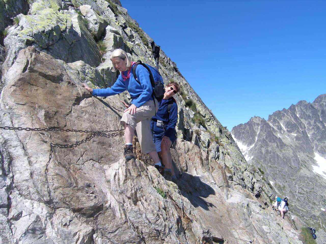 Náročná túra na Priečne sedlo 2352 m. s certifikovaným horským...