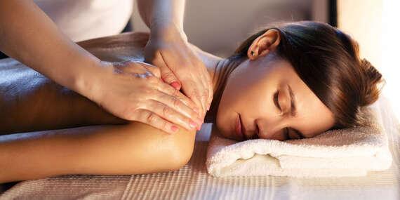 Liečebno-relaxačná 40 min. masáž v obľúbenom salóne Vita Verde/Nitra