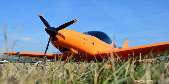 Zážitkový let pre 1 osobu na skvelom dizajnovom lietadle Bristell alebo TECNAM/Nitra, Nové Zámky alebo Šurany