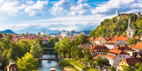 Nádherné Slovinsko s návštevou romantického jazera Bled / Slovinsko