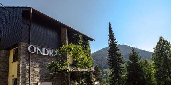 Ubytování s polopenzí v krásné beskydské přírodě pod Lysou horou v hotelu Ondráš/Ostravice - Beskydy