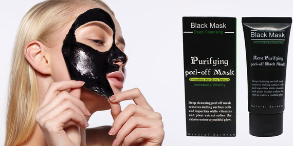 Pleťová kórejská čierna maska, ktorá zbaví pleť nečistôt a čiernych bodiek/Slovensko