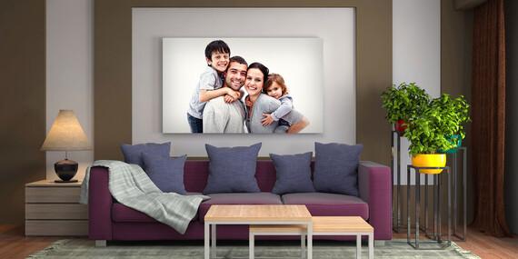 Štýlový obraz od FaxCOPY na plátne z vlastnej fotografie/Slovensko