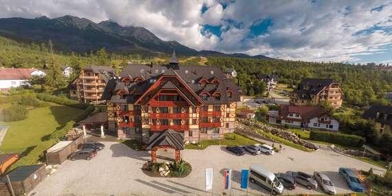 Dovolená pro náročné v APLEND Hotelu Kukučka**** blízko lanovky na Lomničák/Slovensko - Tatranská Lomnica