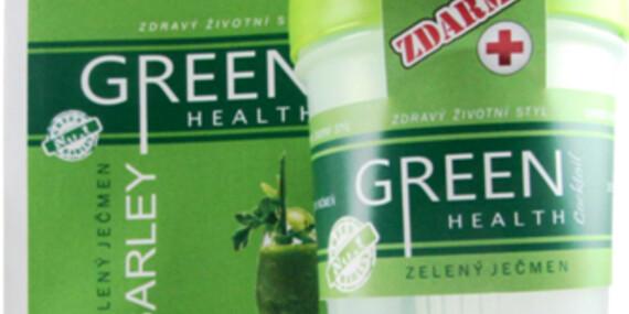 Zelený jačmeň - nápoj plný vitamínov so šejkerom zdarma/Slovensko