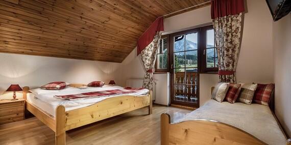 Luxusná chata Adamec s polpenziou a neobmedzeným wellness v najkrajšej časti Tatier/Ždiar – Belianske Tatry