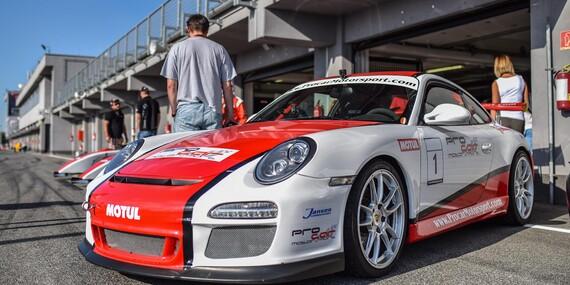 Jazda na pretekárskom okruhu Slovakia Ring na vozidle podľa vášho výberu: Jazda na Porsche GT3 alebo Mustangu GT V8/Orechová Potôň - Slovakia Ring