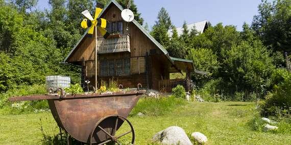 Chata Retro pre 6 osôb obklopená národným parkom/Stará Lesná