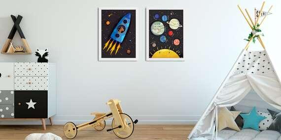 NOVINKA: Krásne canvas obrazy a plagáty do každej detskej izby (17 typov)/Bratislava