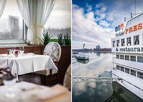 Večera na lodi sprechádzkou pri Dunaji. Testovali sme Botel Pressburg Restuarant