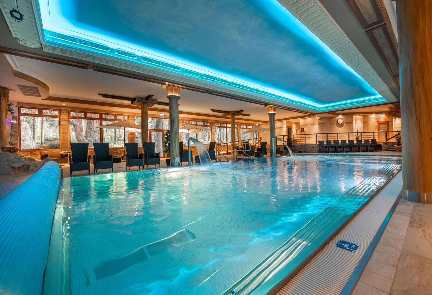 Wellness v Športcentre Púchov - vstupy do vodného a saunového sveta