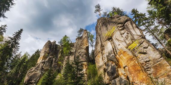 Pobyt v chatkách uprostred krásnej prírody pre dvoch s polpenziou/Česko - Broumov