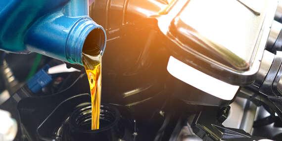 Výmena oleja a olejového filtra/Stupava