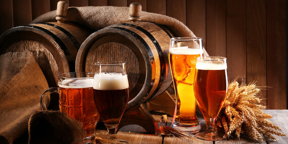 Uvarte si svoje vlastné pivo na kurze varenia piva pre 1 - 2 osoby a k tomu pizza ako občerstvenie/Zvolen