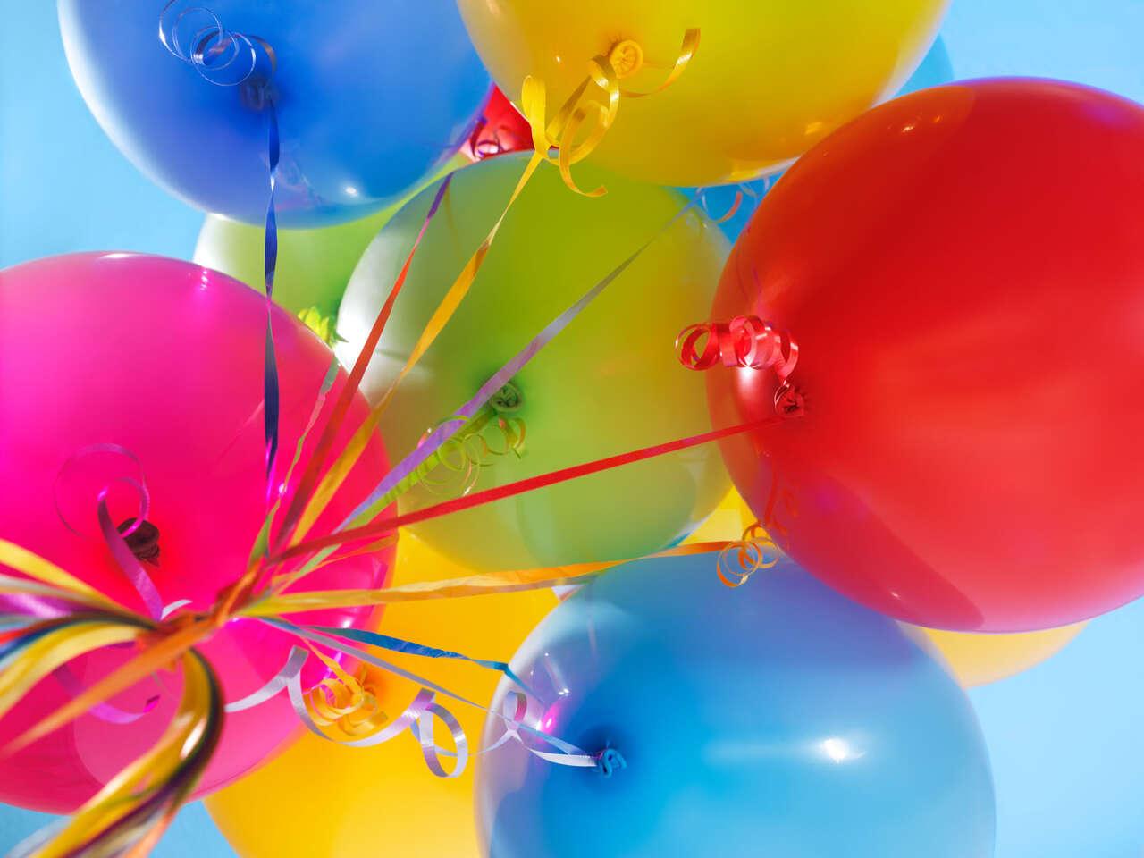 Balóny na párty či svadbu s héliom – 30, 50 alebo 100 kusov