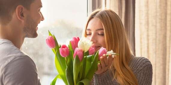 Krásna kytica tulipánov pre vašu polovičku - premeňte aj bežný deň na výnimočný/Slovensko