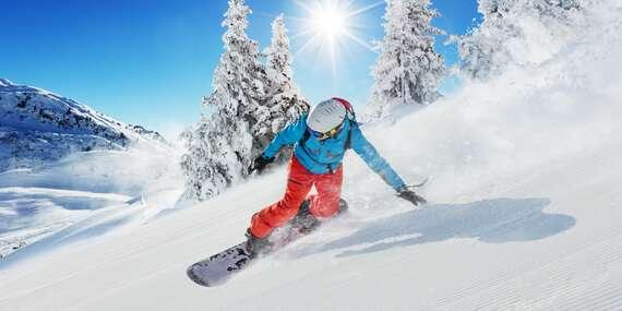 Kurz snowboardingu v Krušných horách včetně skipasu a služeb zkušeného instruktora s platností až do roku 2022!/Ústí nad Labem