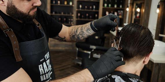 Pánsky strih, holenie britvou alebo Kombo v The Razors BarberShop na Radlinského č. 27/Bratislava - Staré Mesto