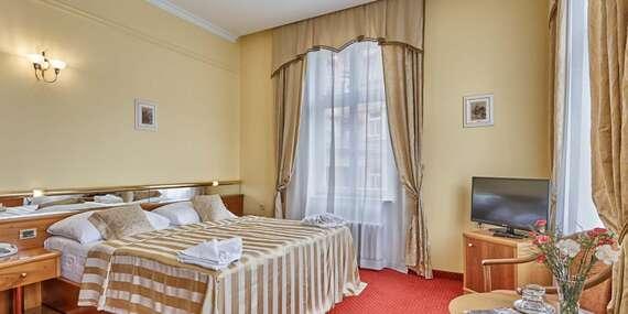 Spa hotel Sirius**** v historickém centru lázeňského města Karlovy Vary se vstupem do saunového světa a polopenzí/Karlovy Vary