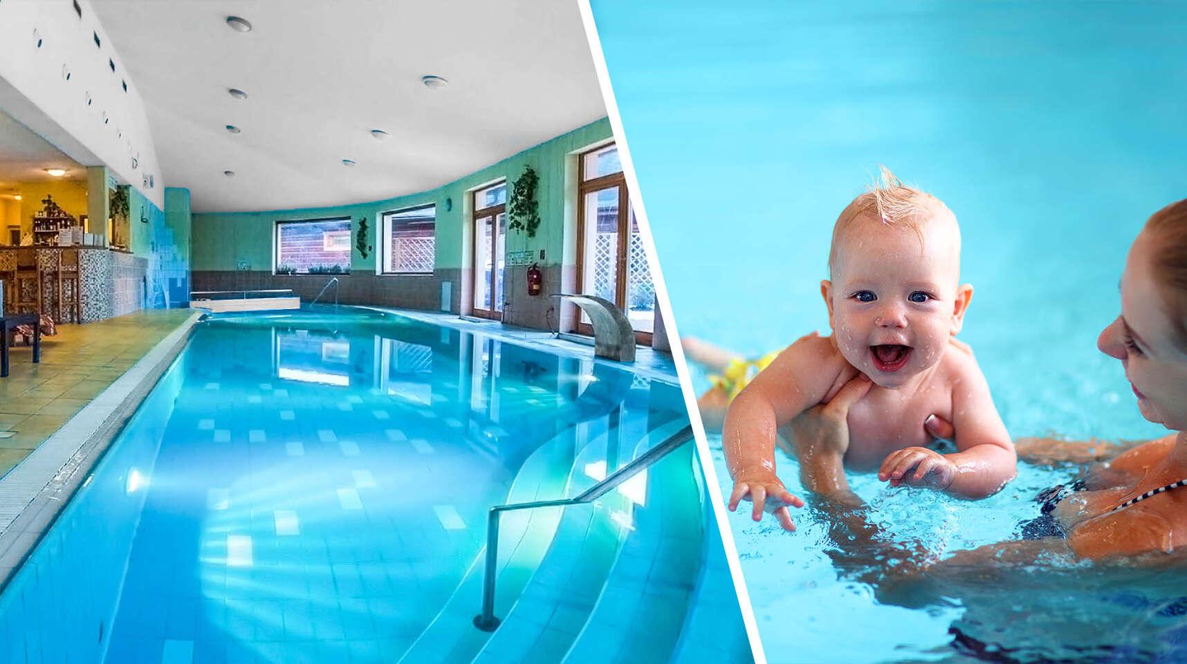 Rodinný pobyt s kurzom baby plávania, polpenziou a wellness v Sojka resort na čarovnom Liptove