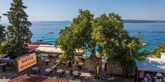Rodinná dovolenka v letovisku Dramalj len 50 m od mora s ubytovaním v Dependencia Riviera **, 2 deti v cene pobytu/Chorvátsko - Kvarner, Crikvenica - Dramalj