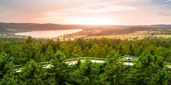 Letní pobyt na Šumavě s bydlením přímo u Lipna v Penzionu Tomy 3 se snídaní a zapůjčením lodě s vesly / Lipno - Frymburk, Šumava