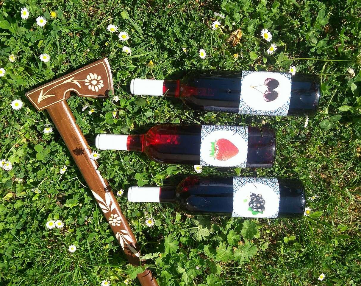 Trojbalenie slovenských ovocných vín na spríjemnenie chvíľ strávených doma