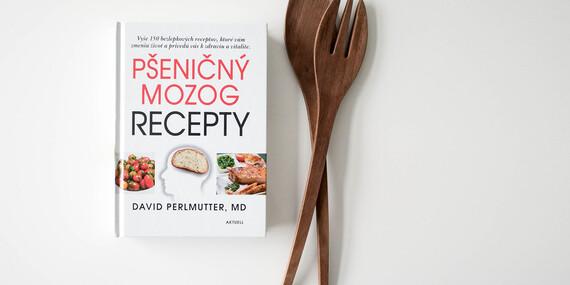Kniha Pšeničný mozog - vyše 150 bezlepkových receptov, ktoré vám zmenia život/Slovensko