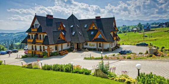 Obľúbený rodinný hotel Redyk*** s polpenziou, SPA a nádherným výhľadom na hory/Poľsko - Zab v Zakopanom