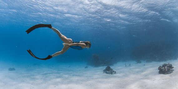 Freediving - dvojdňový kurz, po ktorom sa budete na svet pod hladinou, ale aj nad ňou pozerať už navždy inak/Veľké Košariská – Dunajská Lužná