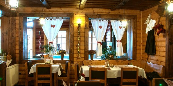 Wellness a romantická večera v Sojka resort/Liptov – Malatíny