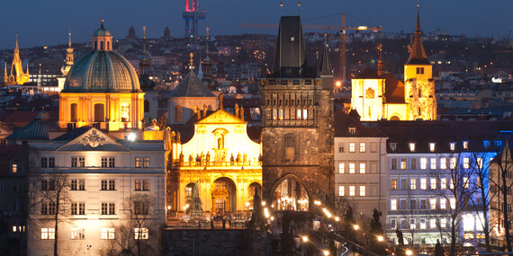 Centrum Prahy na dosah s ubytováním v jedinečných prostorách hotelu Taurus ****/Praha