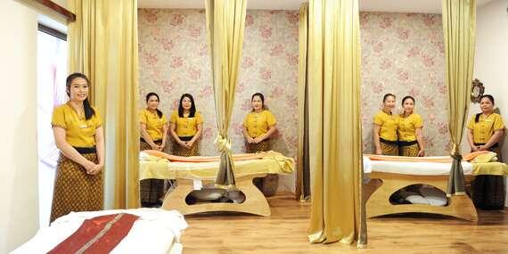 Celotelová thajská masáž v centre Trnavy/Trnava