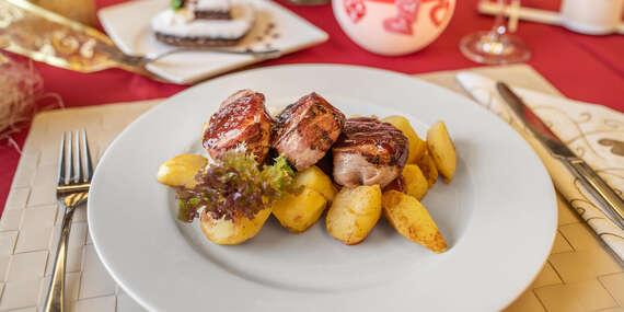 Degustačné menu pre 2 osoby v reštaurácii Pohoda v Horskom parku / Bratislava – Horský park