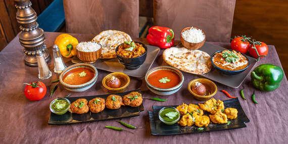 Indické 4-chodové menu pre 2 osoby v reštaurácii Masala Darbar / Bratislava - Staré Mesto