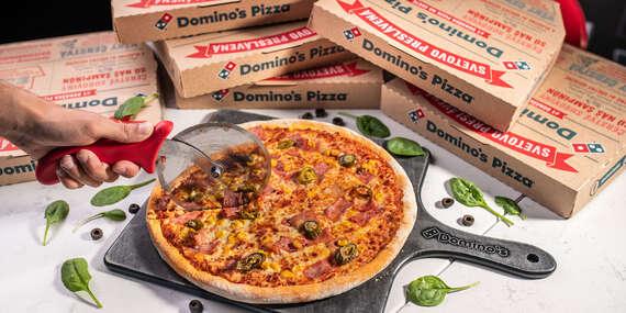 Druhá pizza v Domino´s Pizza iba za 1 € – bezkontaktná donáška či osobný odber/Bratislava - Staré Mesto, Ružinov, Petržalka, Rača