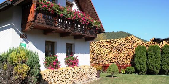 Rodinný domček Bôrka so saunou, ihriskom a exkurziou do včelej farmy + 1 noc zdarma / Fačkov
