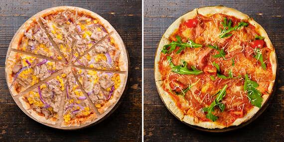Malá pizza podľa vlastného výberu - donáška alebo take away/Košice