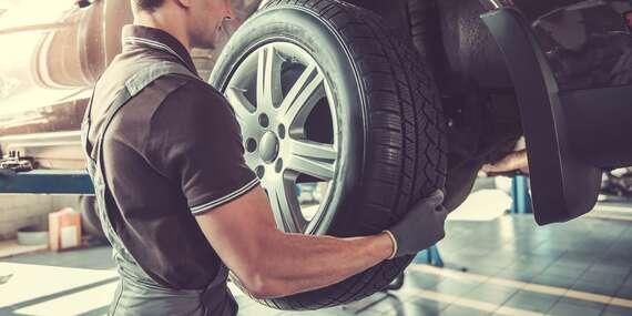 Kompletné prezutie s vyvážením a kontrola technického stavu vozidla/Pezinok