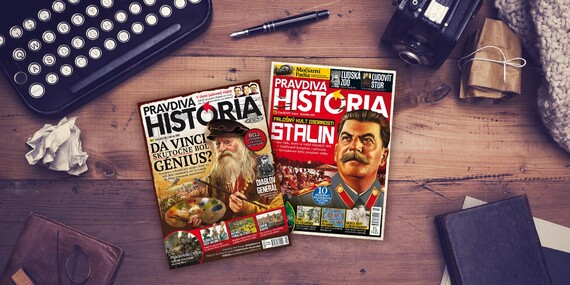 Ročné predplatné časopisu Pravdivá História/Slovensko