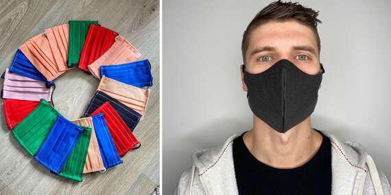 Antibakteriálna maska s uhlíkovým vláknom alebo bavlnené rúška/Slovensko