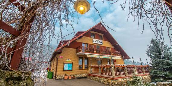 Horský hotel Gejdák*** s polpenziou, wellness a bowlingom, len 14 min. od ski centra Malinô Brdo/Ružomberok - Liptov