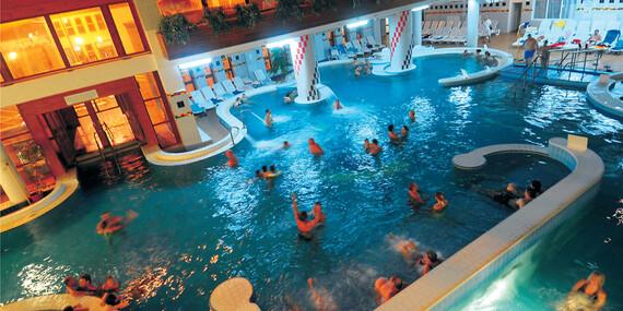Pobyt v maďarských termáloch s wellness, polpenziou a možnosťou ALL INCLUSIVE v hoteli Park Inn Zalakaros***/Madarsko - Zalakaros