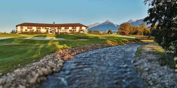 Jedinečný zážitek pod štíty Tater v hotelu International **** s úžasným výhledem / Vysoké Tatry – Veľká Lomnica