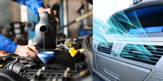 Kontrola klimatizácie s doplnením chladiva, ozónovanie alebo výmena oleja a filtrov v servise TomiCars/Trnava