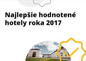 Pozrite si hotely s najlepšími hodnoteniami na ZľavaDňa za rok 2017